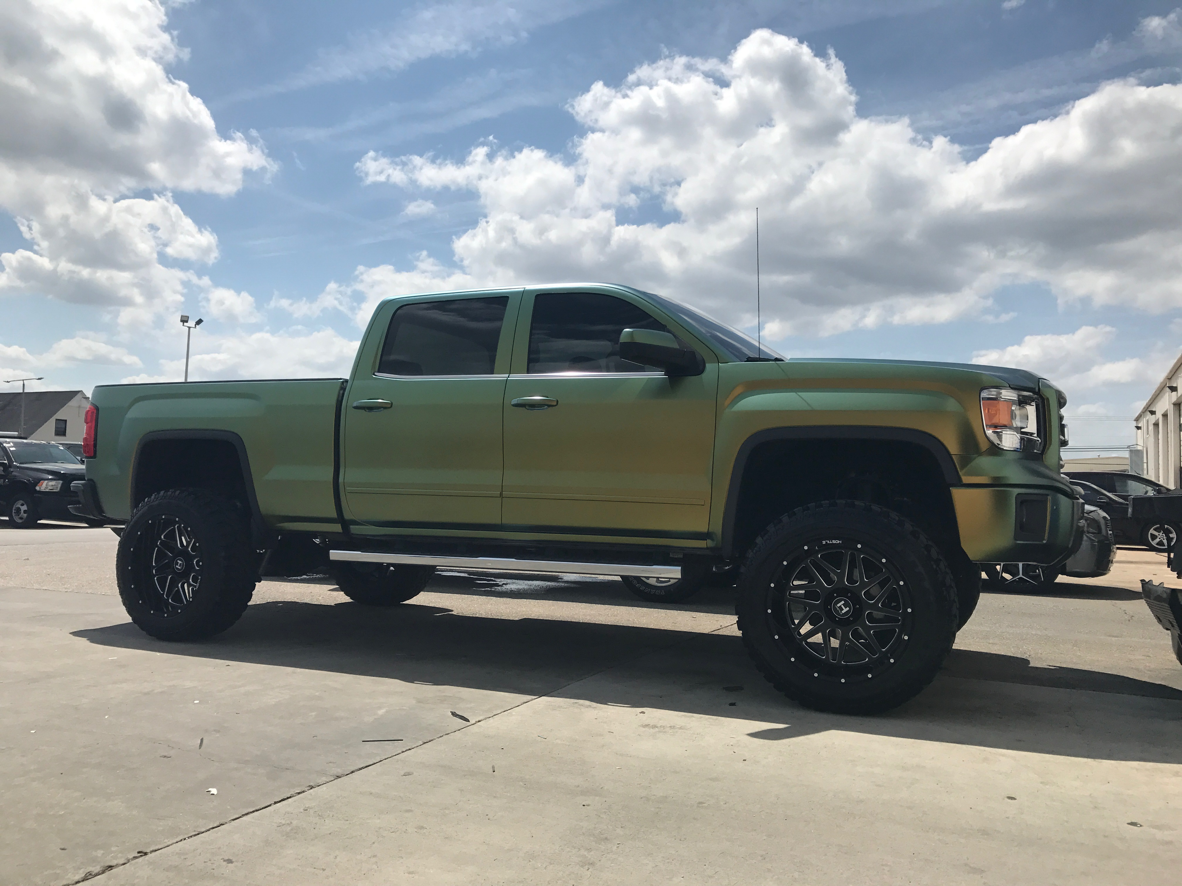 Route 66 Lifted GMC Sierra 2500 Wrap