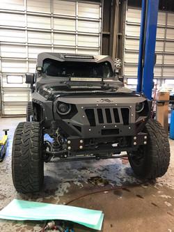 Fab Fours Grumper on a Jeep JK Build