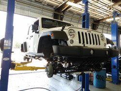 Route 66 Lifted Jeep JK White