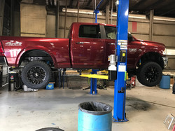 Route 66 Lifted Ram 2500 Red