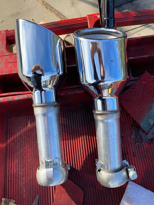 "Mopar 4"" exhaust tips"