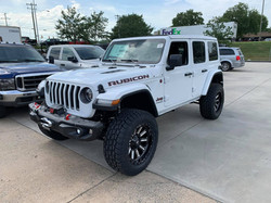 2019 Lifted Jeep JL Rubicon White