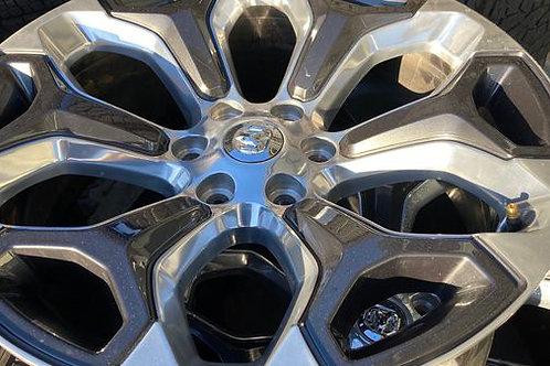 """RAM Sport OEM Mopar 22"""" Wheels."""