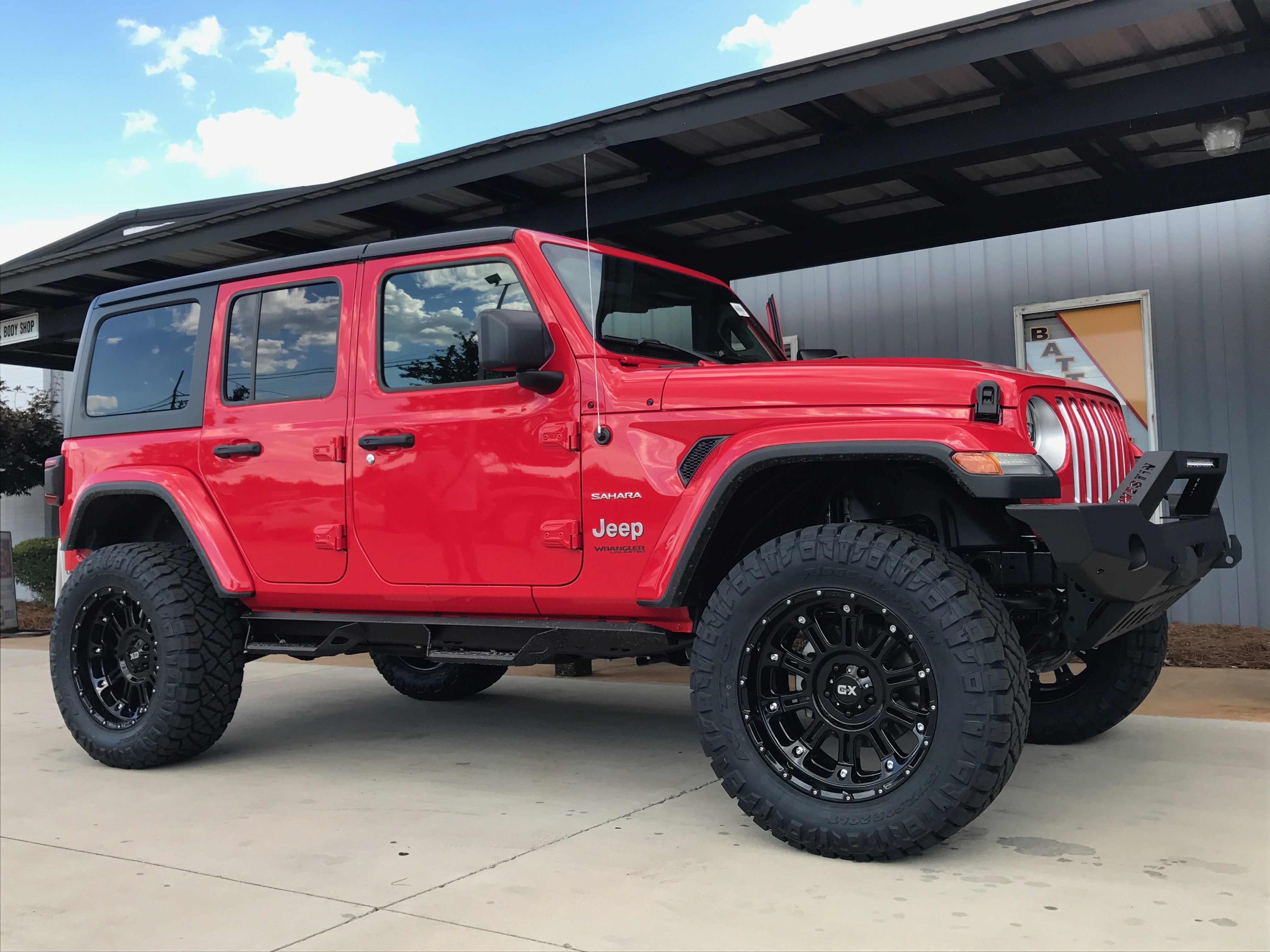 Route 66 Lifted 2018 Jeep JL Red