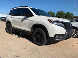 2017 Leveled Honda Pilot White