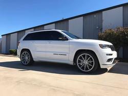 2019 Lowered Jeep Grand Cherokee
