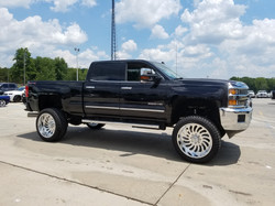 Route 66 Lifted GMC 2500 Black
