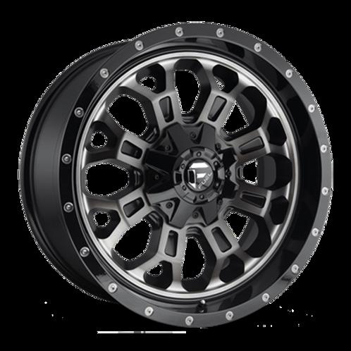 """20"""" Fuel Crush D561 Wheel 20x9 6x5.5 6x135 Black Mach Dark Tint"""
