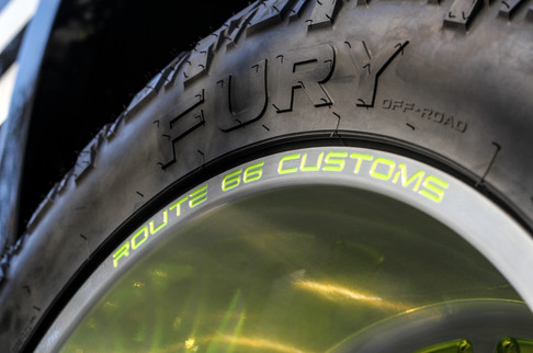 Route 66 Custom Fuel Wheels