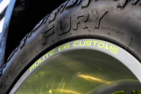 Route 66 Custom Fuel Wheels