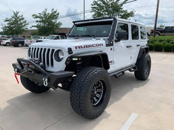 2019 Lifted Jeep JL White