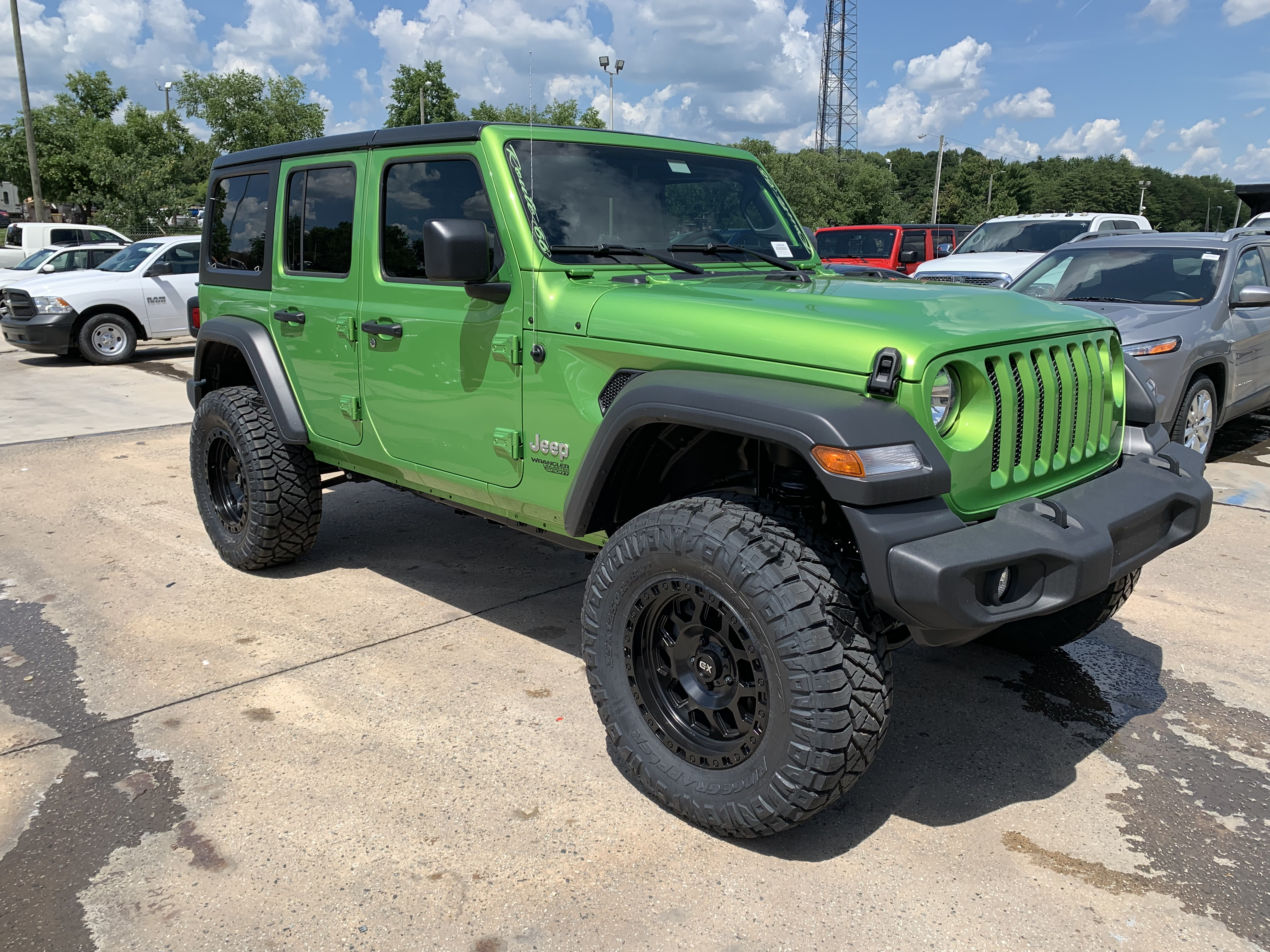 2019 Lifted Jeep JL Mojito