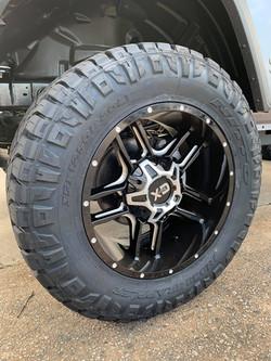 Black and Milled XD Wheels