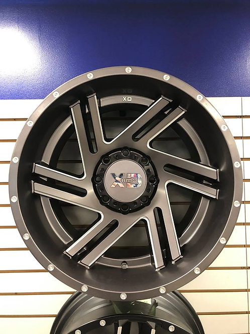 "New XD KMC Wheels XD83521280444N 20""x12"" 8x165 Lug Pattern Set of 4(Four) Wheels"