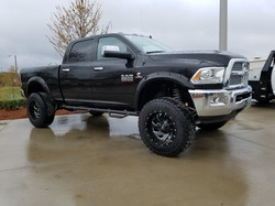 Route 66 Lifted Ram 2500 Black