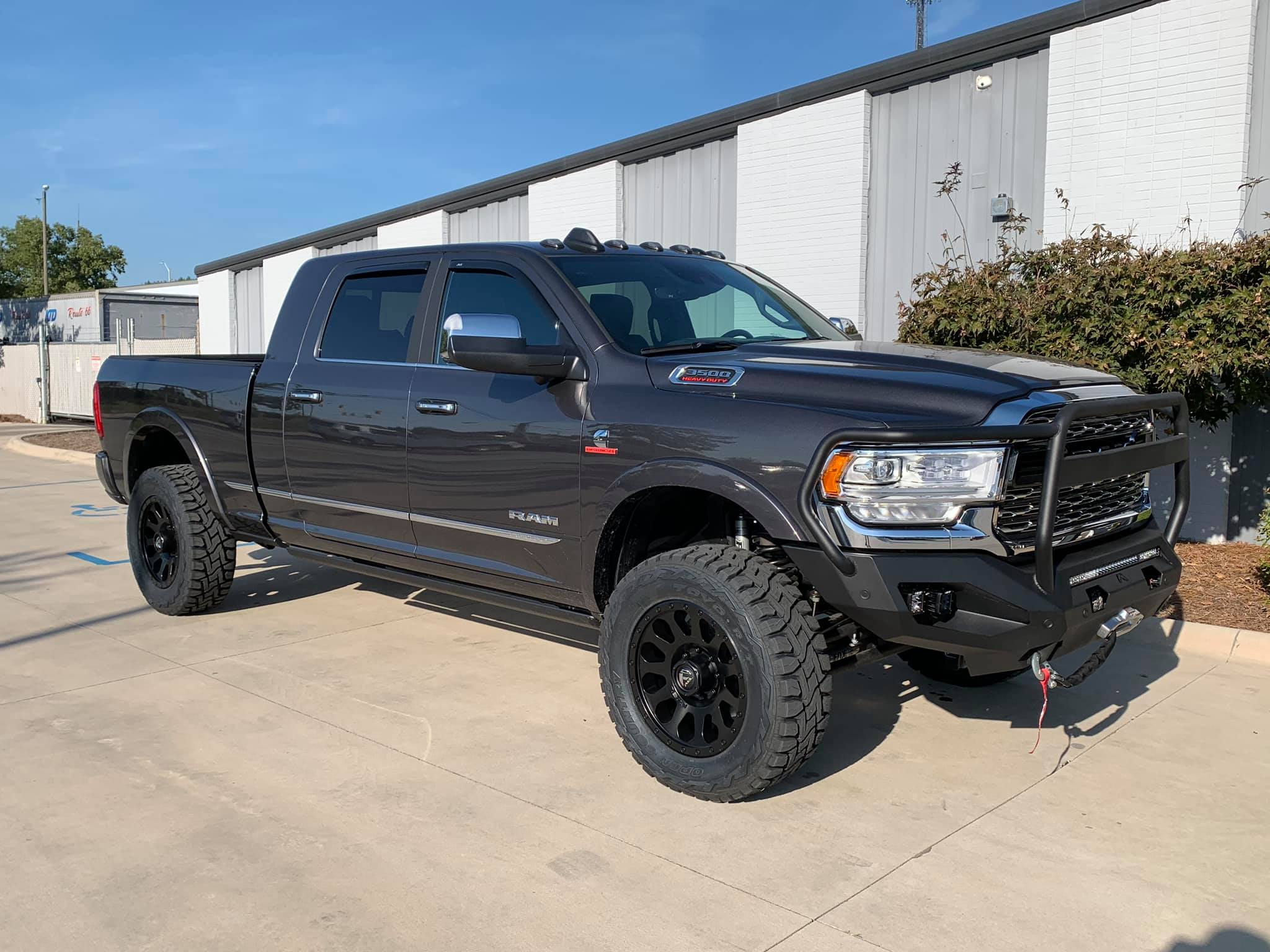 Route66 Leveled 2019 Ram 3500 Grey
