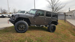 Route 66 Lifted Jeep JK Grey