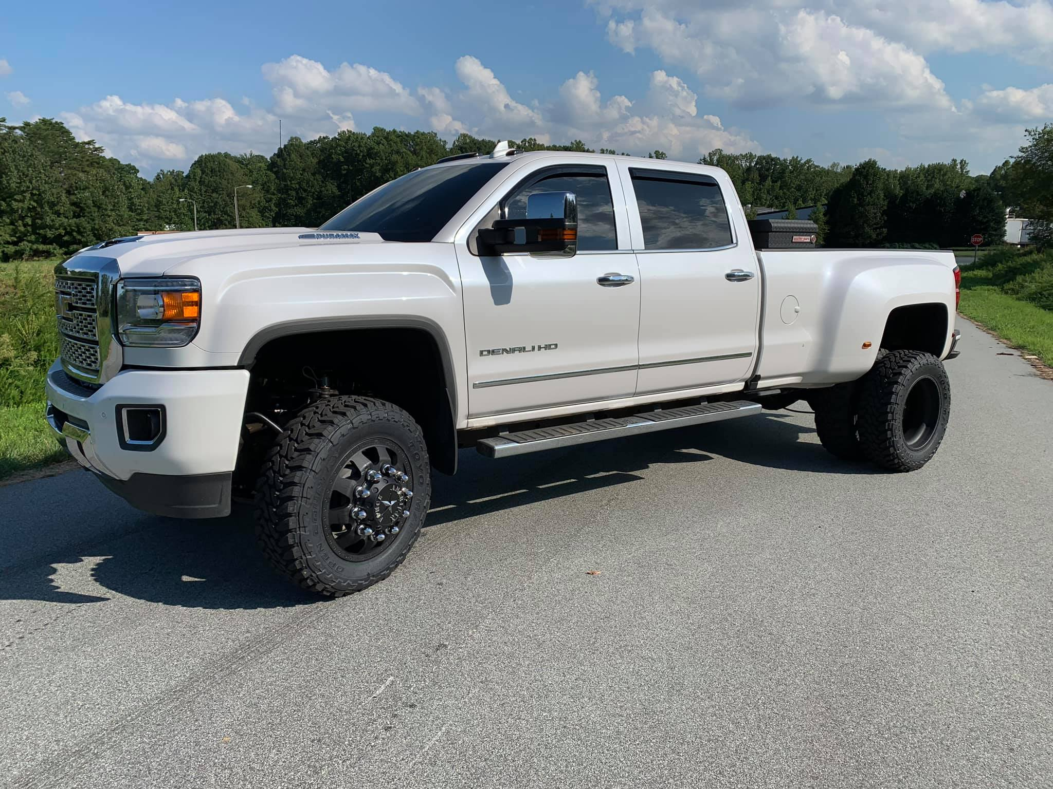 Route66 2019 GMC 3500 Lifted White