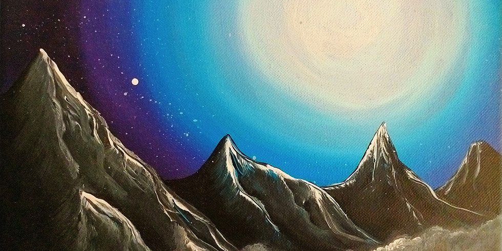 SPRINGFIELD - Orion - Learn to Paint- 'Moonlight Lake'