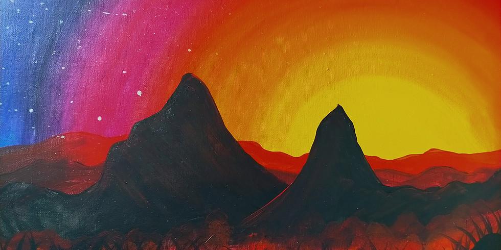 NORTHLAKES- Stellarossa- Learn to Paint- 'Glasshouse'