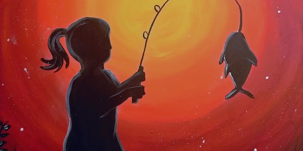 POSTPONED- Stellarossa- Learn to Paint 'Little Girl, Big Fish'
