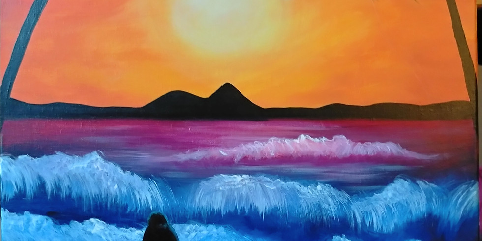 Stellarossa-Learn to Paint-'Sunset Zen'