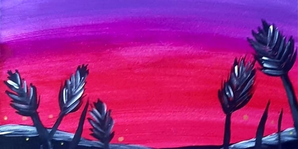 NORTHLAKES- Stellarossa- Learn to Paint- 'Purple Lake'