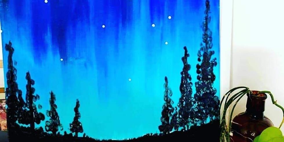 Stellarossa-Learn to Paint 'A Winter's Night'