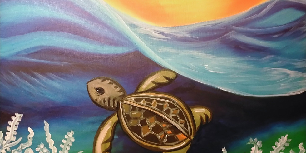 Stellarossa-Learn to Paint-Sea Turtle!