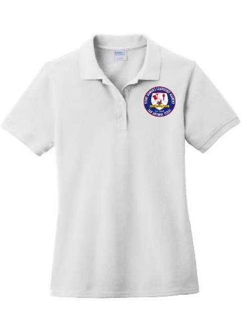 YWLA (white) School Uniform Polo S.S
