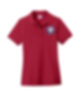 YWLA red polo shirt uniform.png