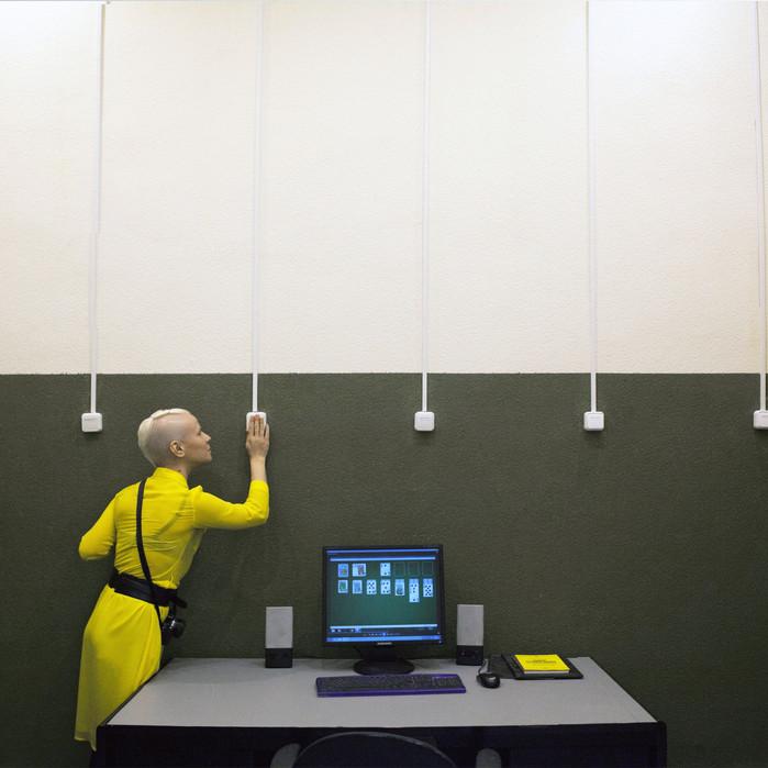Maria Zaikina  turn on/turn off Installation. 2016