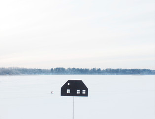 Where is a home