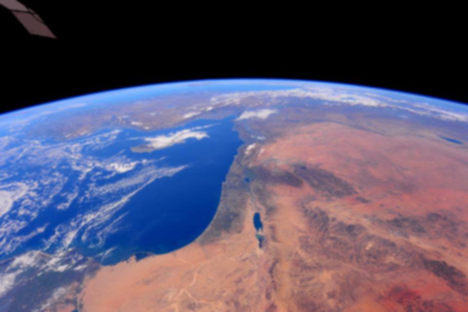 israel vu du ciel