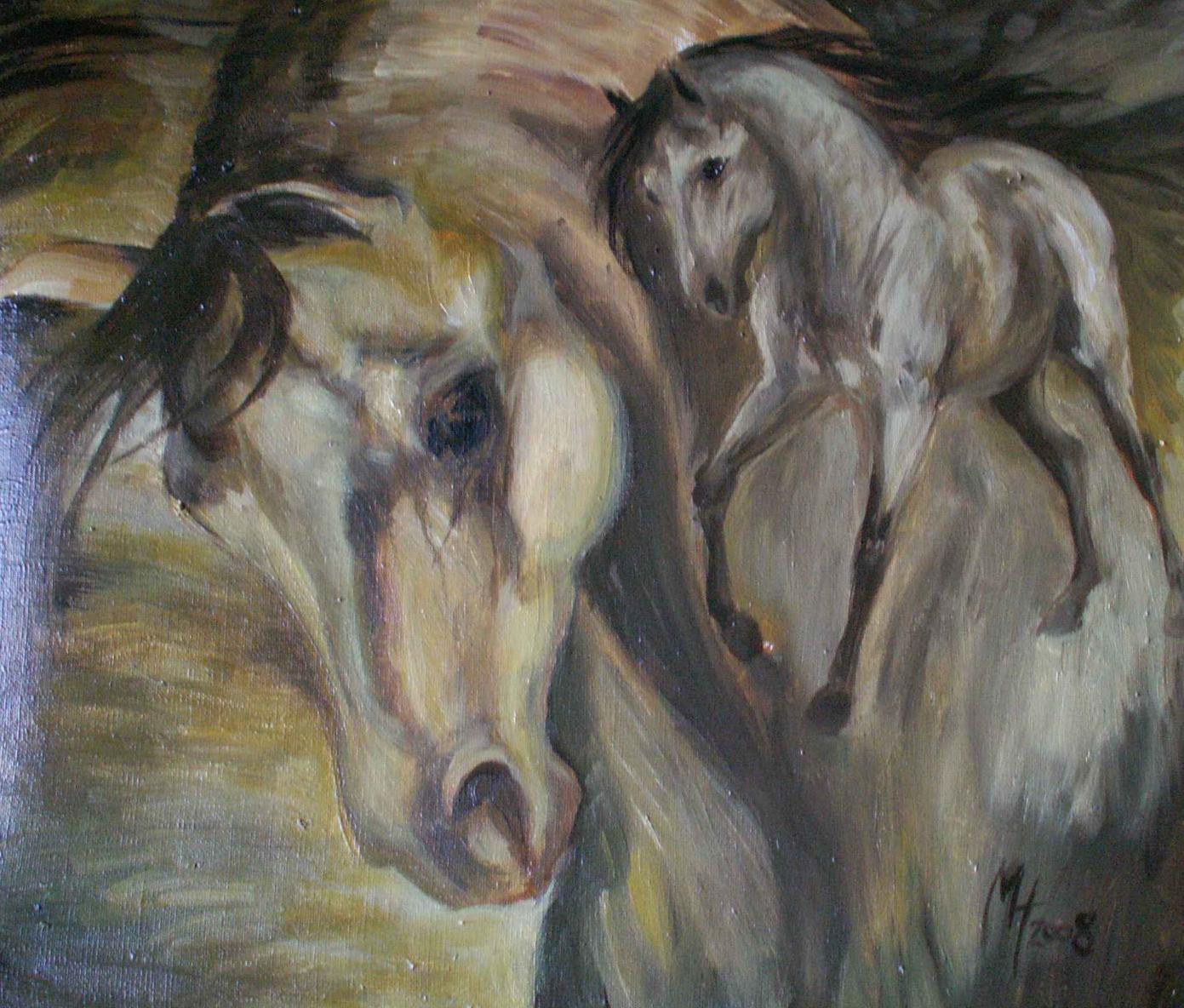 olej na plátně 60x45, 2008