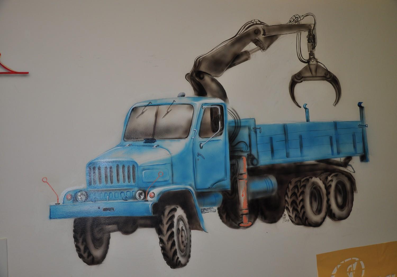 airbrush, 150x70 cm, 2014