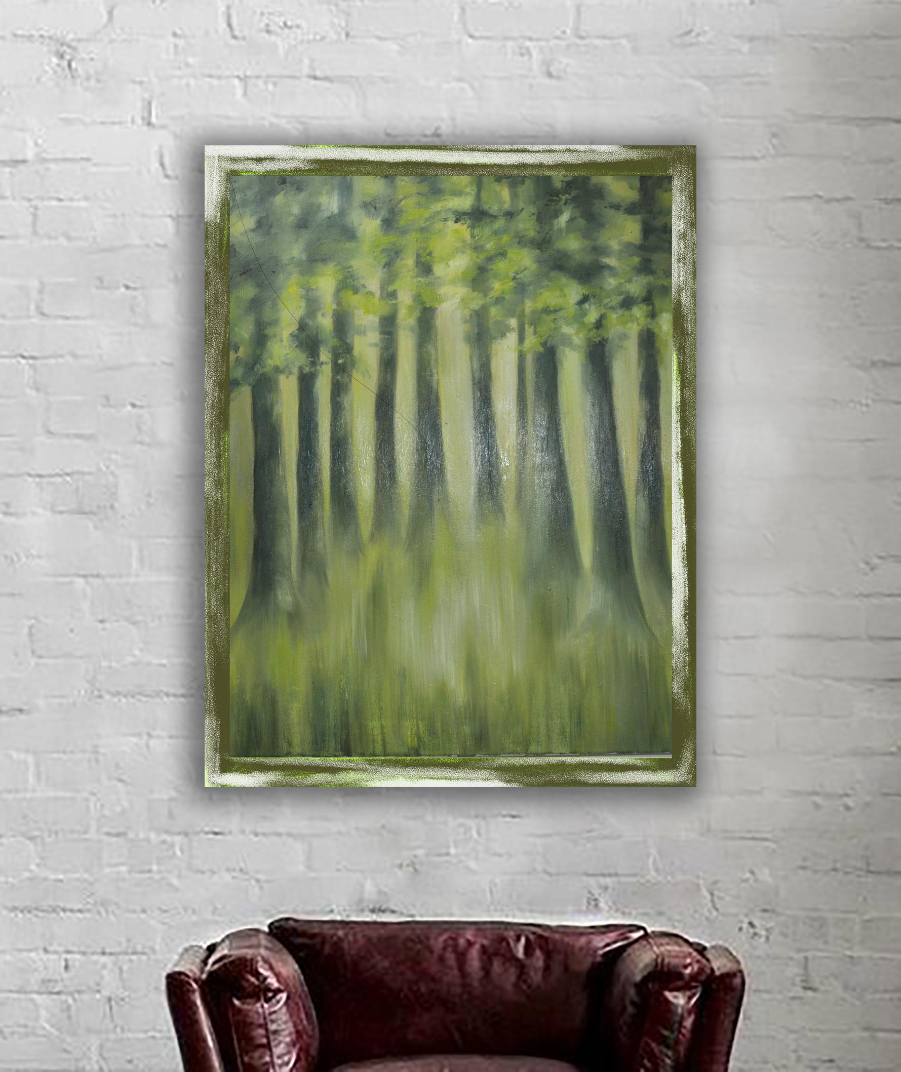 les jarní na zdi