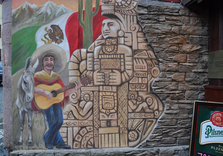 mexická v Jičíně