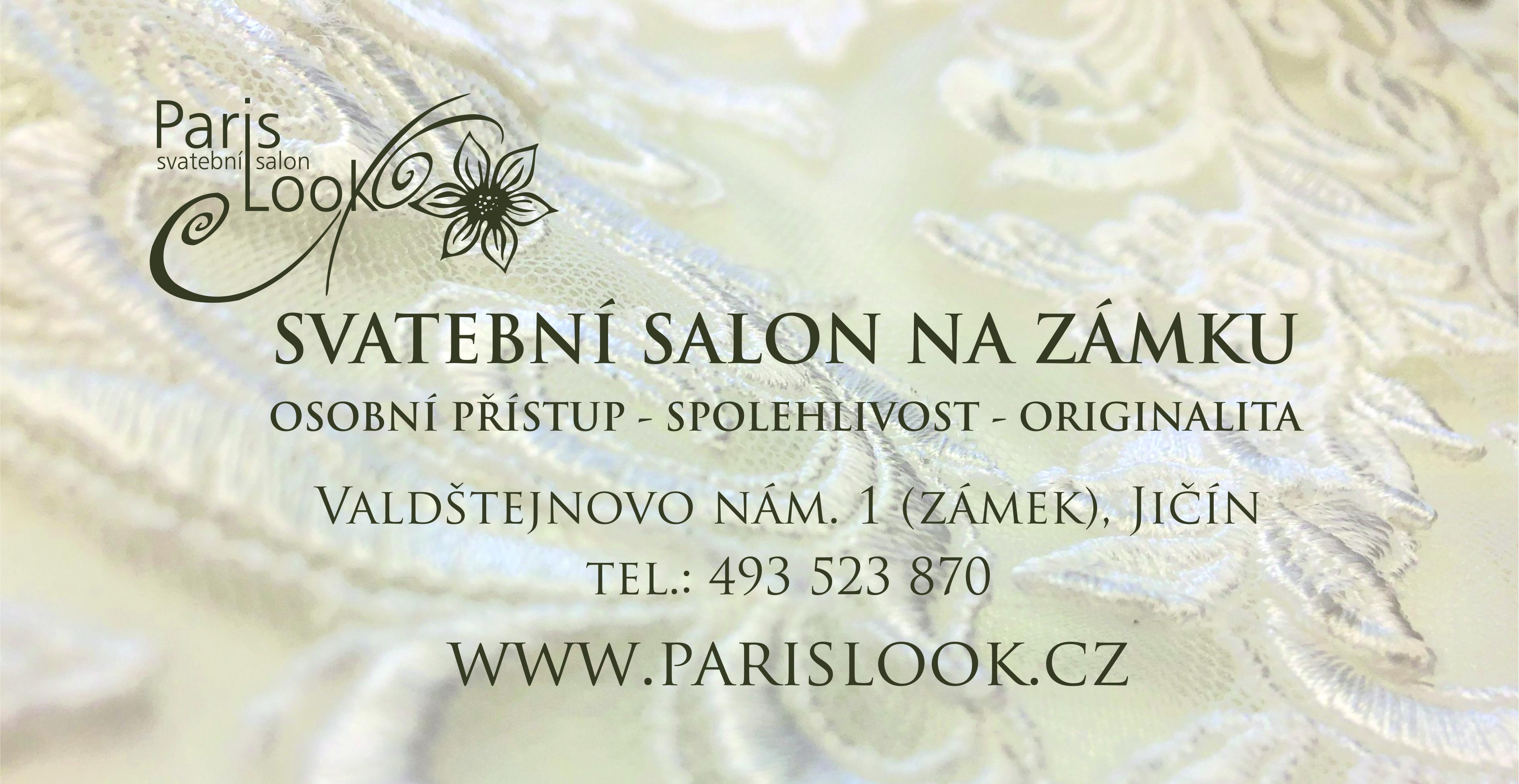 ParisLook Svatební salon Jičín