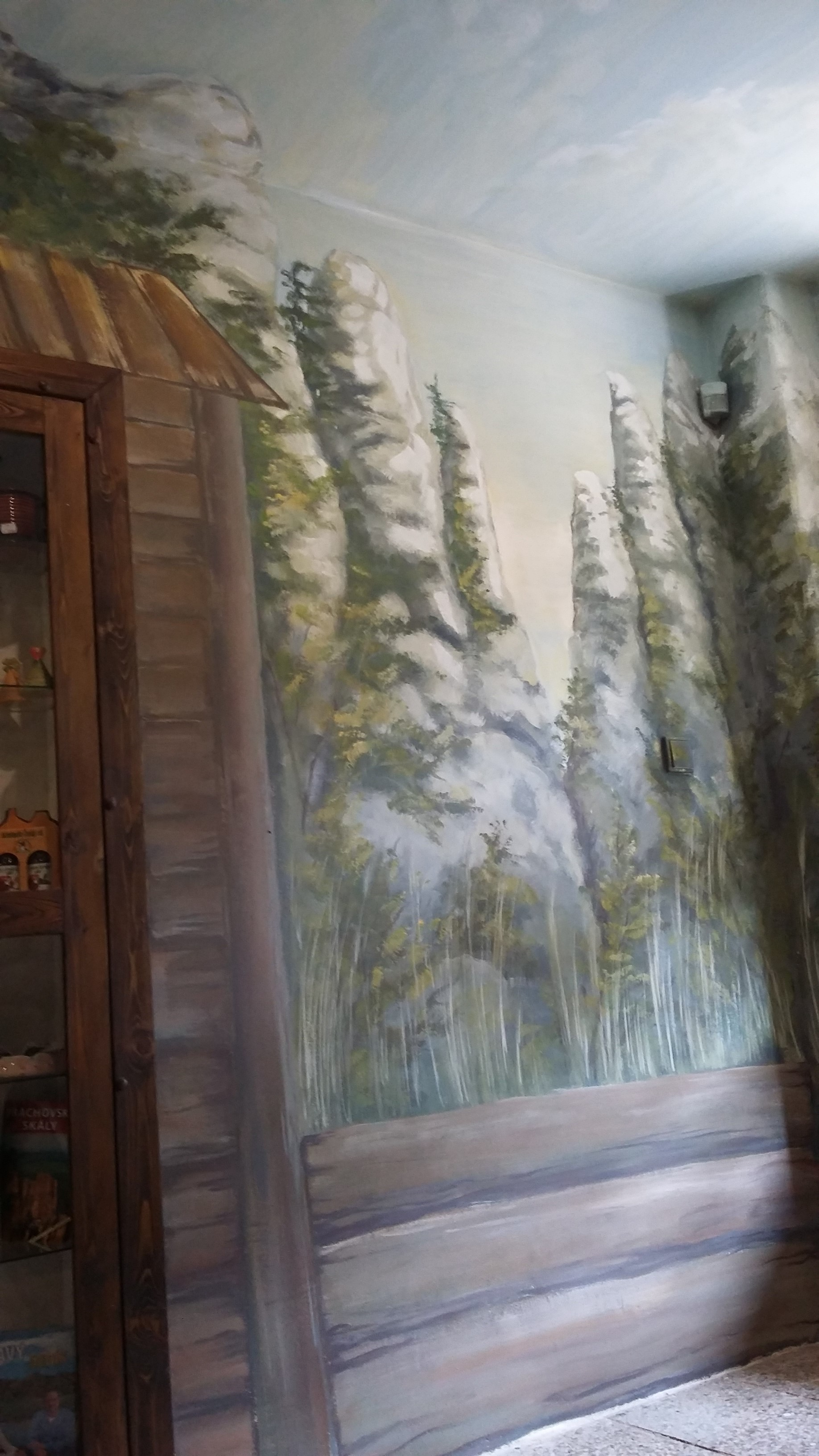 malba v ifocenrtu na Prachově-skály
