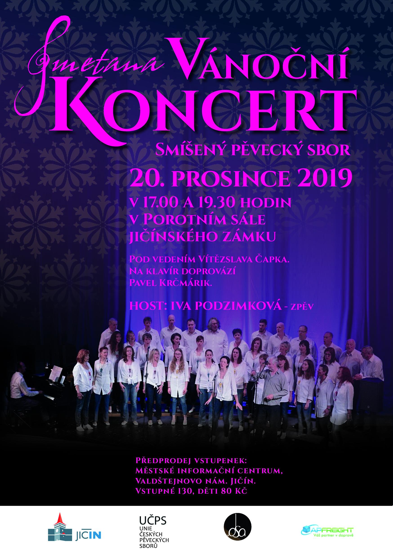 Koncert Smetana Vánoční2019