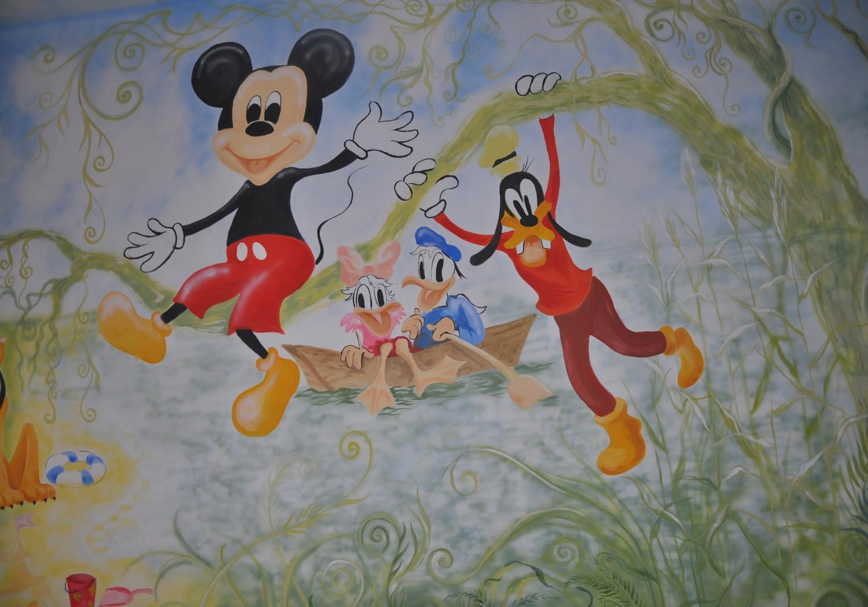 světové umění v dětském pokoji