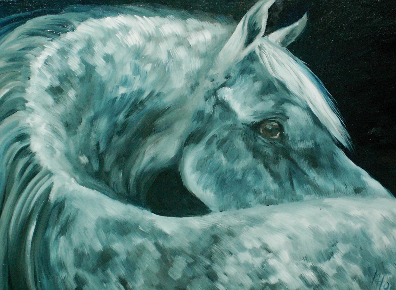 olej na plátně70x55, 2008