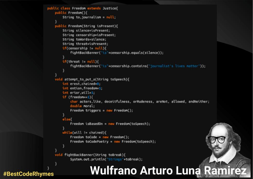 Wulfrano Arturo Luna Ramirez