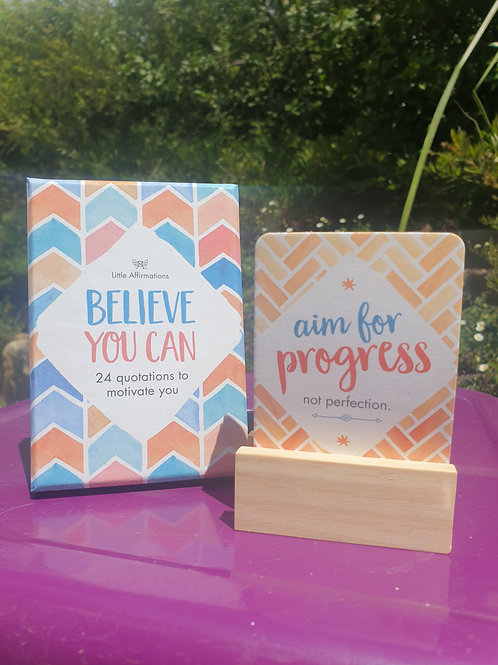 Affirmation Cards - Believe you can