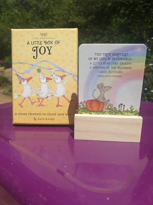 Affirmation Cards - A little box of Joy