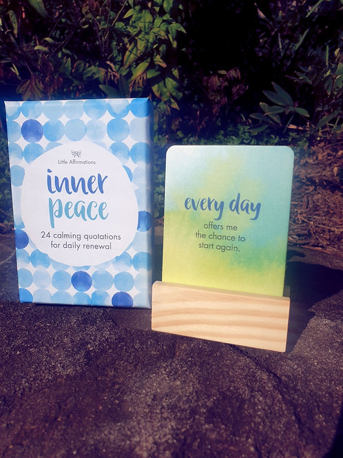 Affirmation Cards - Inner Peace