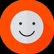 Smiley Face Light Grey - Orange (1).png