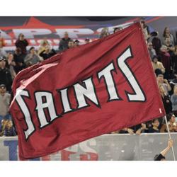 Saints Flag Post