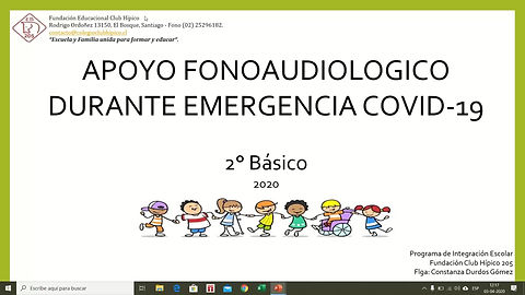 Apoyo Fonoaudiológico 06-04-2020